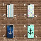 ANCHOR VINTAGE RETRO SEA PATTERN ART PHONE CASE COVER IPHONE AND SAMSUNG MODELS