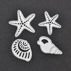 Starfish Conch Cutting Dies Template Paper Hollow Out Scrapbooking Card DIY