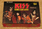 KISS DONRUSS 36 PACK MINT UNPUNCHED BOX SERIES I 1978 AUCOIN