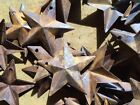 (Set of 20) Rusty Barn Stars 1.5 in 1 1/2 Primitive Country Rust SHIPS FREE!