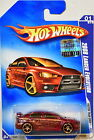 HOT WHEELS 2009 FASTER THAN EVER 2008 LANCER EVOLUTION 01 10 FACTORY SEALED