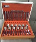 RARE Vtg. Arthur Price John Mason Stainless Steel Cutlery Set of 6 w/Orig. Box