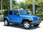 Jeep: Wrangler 4WD Sport 2014 jeep wrangler unlimited sport 4 x 4 convertible suv low miles only 1