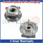 Pair 2 New Rear Left Right Wheel Hub  Bearing for 04 11 Endeavor w ABS 4WD