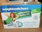 Weight Watchers Ultimate Belly Kit DVD Stability Ball Pump Tracker Recipes NEW