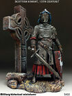 Tin soldiers 54 mm Scottish knight, 13th century  HAND PAINTED