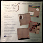 Creative Memories 12x12 Natural Ruled Scrapbook Pages RCM-12NR 2 Packs NEW