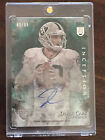 2014 Topps Inception Derek Carr, Raiders, Rookie, Auto on Card with Relic Card