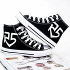 R5 Louder Band Sneakers Light Up Womens Men Casual Shoes High Top Canvas Shoes
