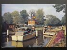 Berkshire SONNING LOCK the River Thames c1970's by J A Dixon