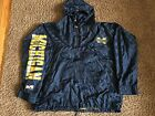 MICHIGAN WOLVERINES NCAA HOODED JACKET BY TWO HYPE MENS X LARGE