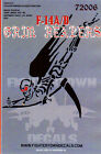 1/72 Fightertown Decals F-14A/B Grim Reapers Decal Sheet - 72006