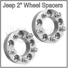 Set of 2 Wheel Spacers 2 Adapters 5x5 5x127 Jeep Wrangler JK Rubicon Sahara
