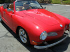 Volkswagen Karmann Ghia Convertible NO RESERVE Award Winning CA Car Over 45000 in restoration NO RESERVE