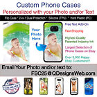 Custom Personalized Photo Selfie Collage Phone Case Cover for Samsung Galaxy s6