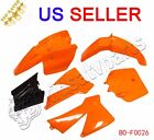 New KTM 50 SX 50 Junior 50cc SX Fender Plastic Orange