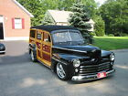 Ford wagon woodie street rod custom 47 ford woodie wagon