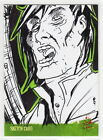 George Romero's NIGHT OF THE LIVING DEAD 1968 Boo Sketch Card Zombie RARE ARTIST