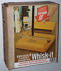 BISSELL WHISK-IT CARPET SWEEPER ZOOM BROOM 1970s VINTAGE MOD YELLOW NEW NOS NIB