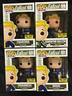 Funko Pop! Games-Fallout-HT Mystery Boxes Completed Set 98-101 With Chase!