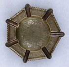 Antique Old Vintage Islamic  Made Brass Beautiful Ash Tray Antique Collectible