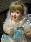 ASHTON DRAKE CINDY McCLURE PORCELAIN LUCK AT THE END OF THE RAINBOW WITH COA