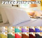 1800 TC EGYPTIAN COTTON QUALITY QUEEN  KING 4 PIECE SHEETS SET