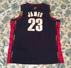 LEBRON JAMES Cleveland Cavaliers Authentic ADIDAS Road Jersey #23 NWT Size 52