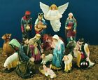 Nativity Scene Full Set 7 36 INCH  Full Color Finish Statue INDOOR OUTDOOR