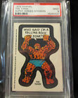 1976 MARVEL SUPER HEROES STICKERS THE THING GRADED PSA 9 MINT