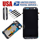 Gray For HTC ONE M8 831C LCD Display Touch Screen Digitizer Frame Replacement US