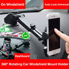 360 Universal In Car Dashboard Cell Mobile Phone GPS Mount Holder Stand Cradle