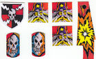 Medieval Madness Pinball Machine Target Decal Set