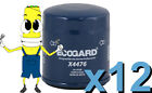 Premium Oil Filter Ecogard X4476 Replaces Fram PH4967 PG4476 L14476 Case of 12