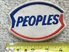 OLD VINTAGE GAS OIL POCKET GAS STATION SHIRT UNIFORM PATCH CAN SIGN Peoples Gas