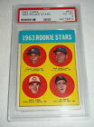 1963 Pete Rose Topps card #537 Rookie RC PSA 4 very good -excellent Very Hot!!