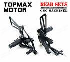 CNC Racing Rearsets Rear Sets Pedal For Honda CBR125R/150R 2011-2016,300R 14-16