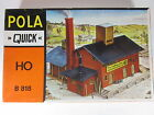 Pola HO 1:87 Iron Foundry Industrial Building with Smokestack - Kit