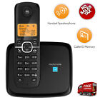Motorola Cordless Phone DECT 6.0 Home Digital System Answering Machine 1 Handset