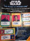 2016 Topps Star Wars The Road To Rogue One 12 Box Factory Sealed HOBBY Case