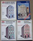 Model Power HO 1:87 City block of 4 Art Nouveau Town Houses - 4 Kits