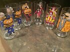 Lot of 6: Vintage McDonald's Collector Series Glasses