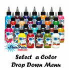 1oz Bottles Starbrite Tattoo Ink Colors Authentic Tommys Brand Pigment