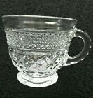 8 Anchor Hocking WEXFORD Footed Punch Coffee Snack Cups Set Of Eight Art Deco