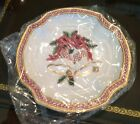 FITZ & FLOYD Essentials HOLIDAY BELLS Canape Plate NEW