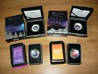 2012,2014,2016 $5 Coloured Fine Silver Proof Domed Coin- 4 coins together