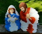 Grand Venture Blow Mold NATIVITY SCENE 28 figures Christmas Vintage 1999