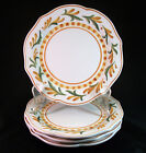 Set of 4 Fitz and Floyd Grand Haven Salad Plates 8 5/8