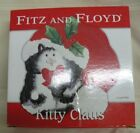 Fitz And Floyd Kitty Claus Christmas Cat Platter (7964)