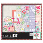 Me  My Big Ideas Boxed Album Kit 12X12 Sweet Baby Girl Pk 1
